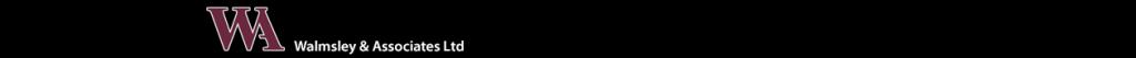 Walmsleys header image